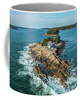 Coffee Mug featuring the photograph Heart Of Frenchmans Bay  by Michael Hughes