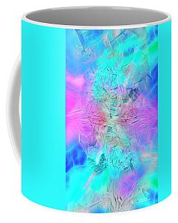 Coffee Mug featuring the digital art Heart Of The Beast by Mike Braun