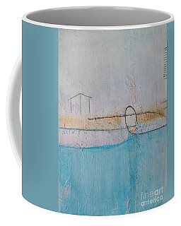 Coffee Mug featuring the painting Heart Of The Home by Kim Nelson