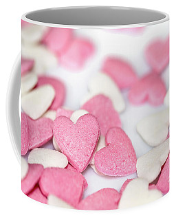 Heart Sugar Candies Coffee Mug