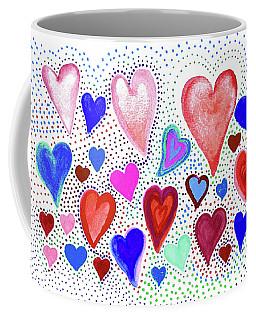 Hearts 1003 Coffee Mug