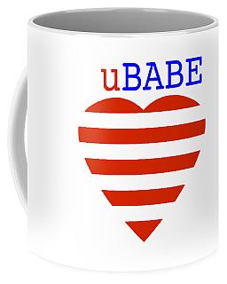 Hearts And Stripes Coffee Mug