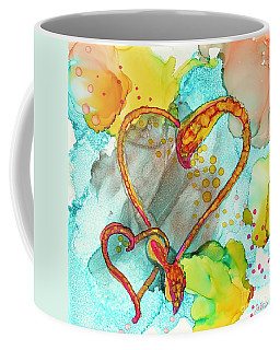 Hearts Entwined Coffee Mug