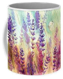 Heathers In Haze Coffee Mug