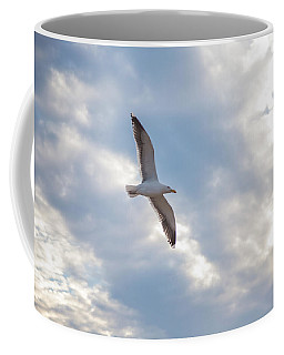 Heavenly Gull - Misquamicut Beach Coffee Mug