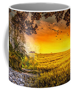 Heaven's Morning Glow Coffee Mug