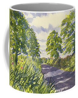 Hedgerows On Rudston Road Coffee Mug