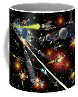 Hell In Space Coffee Mug