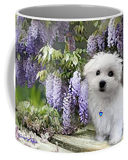 Hermes And Wisteria Coffee Mug
