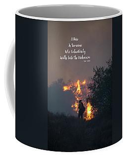 Coffee Mug featuring the photograph Hero by Lynn Bauer