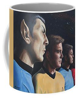 Heroes Of The Final Frontier Coffee Mug