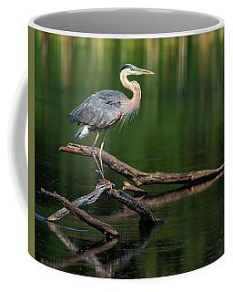 Heron 6 Coffee Mug