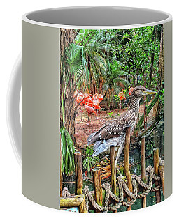 Heron On Guard Coffee Mug