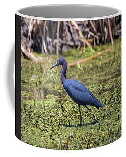 Heron Portrait Coffee Mug