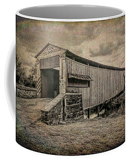 Herr's Mill Covered Bridge Lancaster Pa. Coffee Mug
