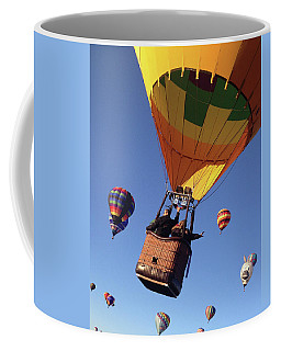 Coffee Mug featuring the photograph Hi From Up High by Mike Long