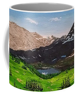 Hidden Lake Pass Coffee Mug