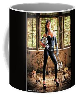 High Heeled Zombie Slayer Coffee Mug