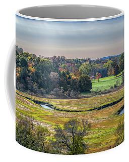 Hill Top View, Estuary Crane Estate Coffee Mug