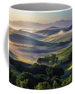 Hilly Tuscany Valley Coffee Mug