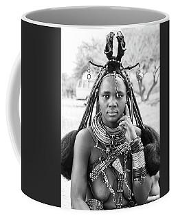 Himba Style Girl Coffee Mug