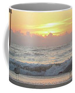 Coffee Mug featuring the photograph Hint Of Sunrise by Robert Banach