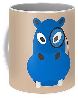 Hippo With Monocle Coffee Mug