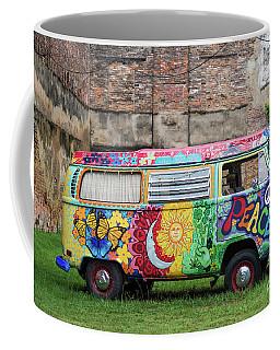 Hippie Dippie Vw Micro Bus Coffee Mug