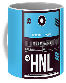 Hnl Honolulu Luggage Tag II Coffee Mug