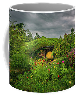 Hobbit Garden In Bloom Coffee Mug