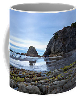 Coffee Mug featuring the photograph Hole In The Wall by Sharon Seaward