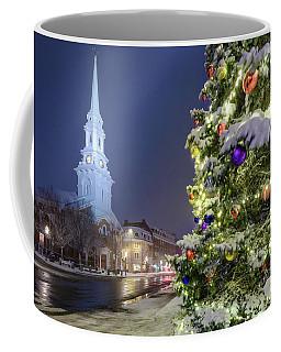 Holiday Snow, Market Square Coffee Mug