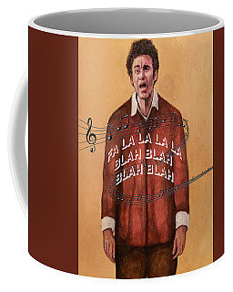Coffee Mug featuring the painting Holidaze by Tom Roderick