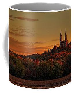 Holy Hill Sunrise Panorama Coffee Mug