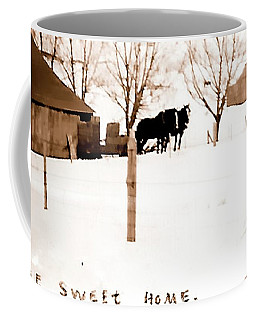 Coffee Mug featuring the photograph Home Sweet Home 1917 by Jerry Sodorff