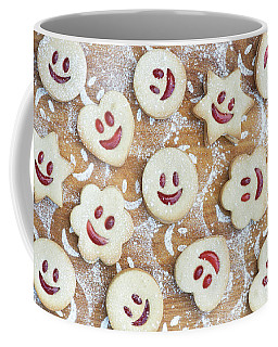 Homemade Jammie Dodgers Coffee Mug