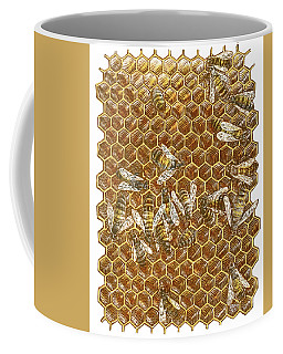 Honey Bees Coffee Mug