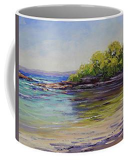 Honeymoon Beach Coffee Mugs