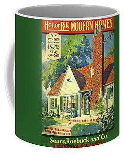 Honor Bilt Modern Homes Sears Roebuck And Co 1930 Coffee Mug