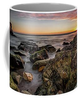 Coffee Mug featuring the photograph Horizon Glow by Mike Long