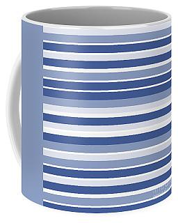 Horizontal Lines Background - Dde607 Coffee Mug