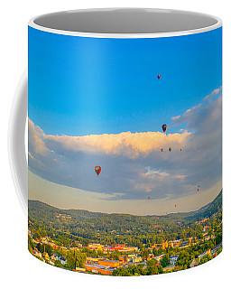 Hot Air Ballon Cluster Coffee Mug