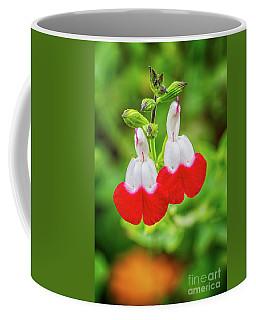 Hot Lips Flower Coffee Mug