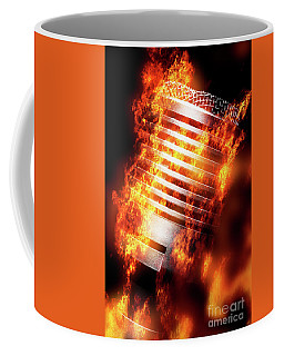 Hot Mic Coffee Mug