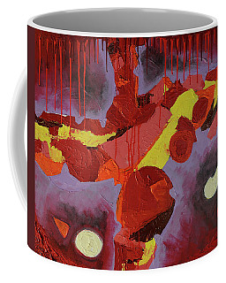 Coffee Mug featuring the photograph Hot Red by Mark Jordan