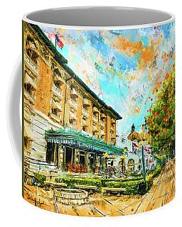 Hot Springs, Arkansas Bath House Coffee Mug