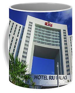 Hotel Riu Palace In Cancun Coffee Mug
