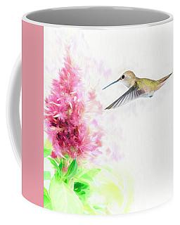 Hummingbird Pastels Coffee Mug