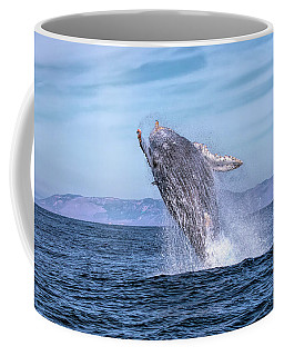 Humpback Breaching - 02 Coffee Mug