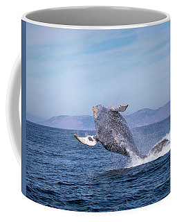 Humpback Breaching - 03 Coffee Mug